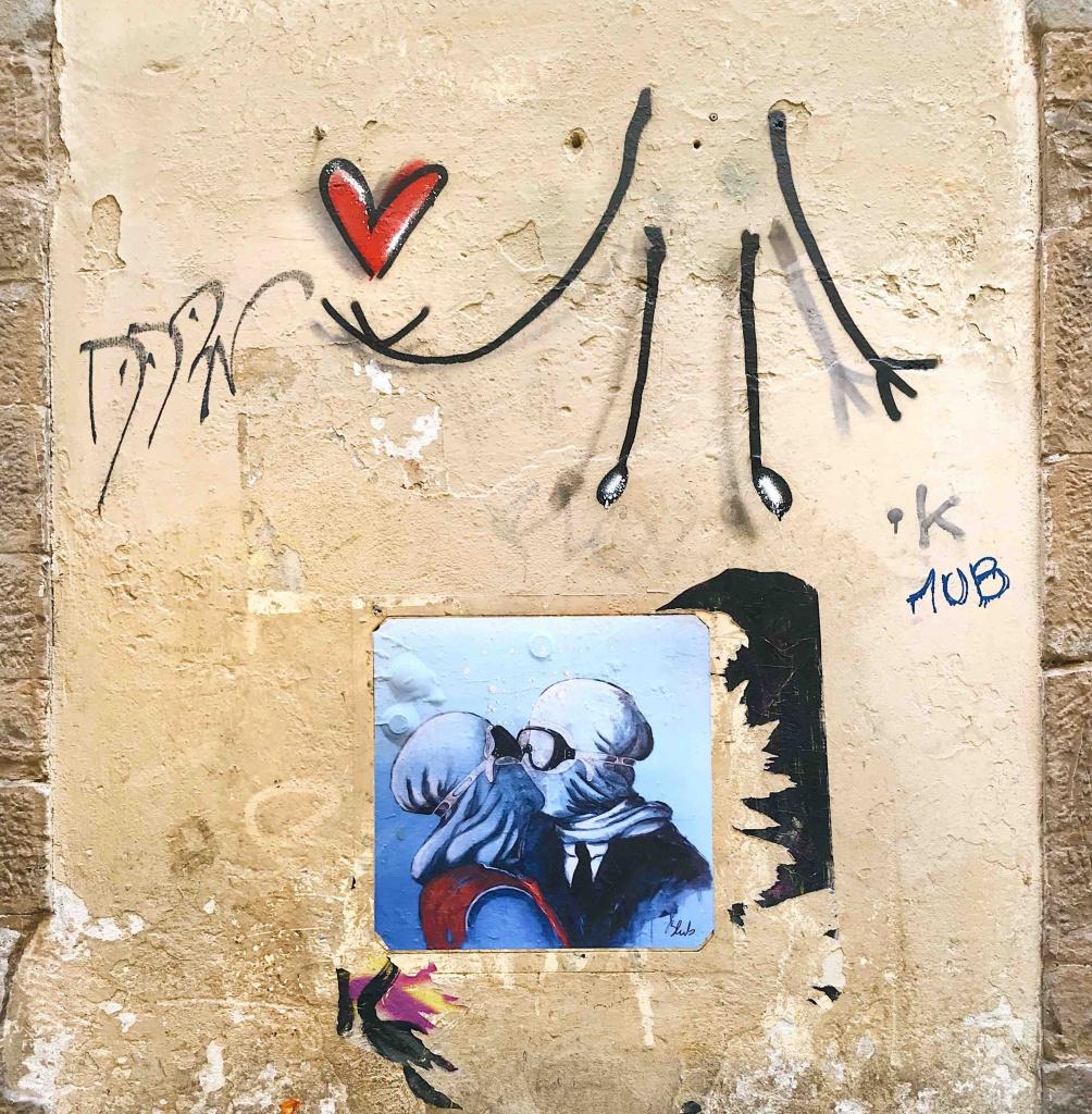 Street Art a Firenze: Blub e Exit Enter