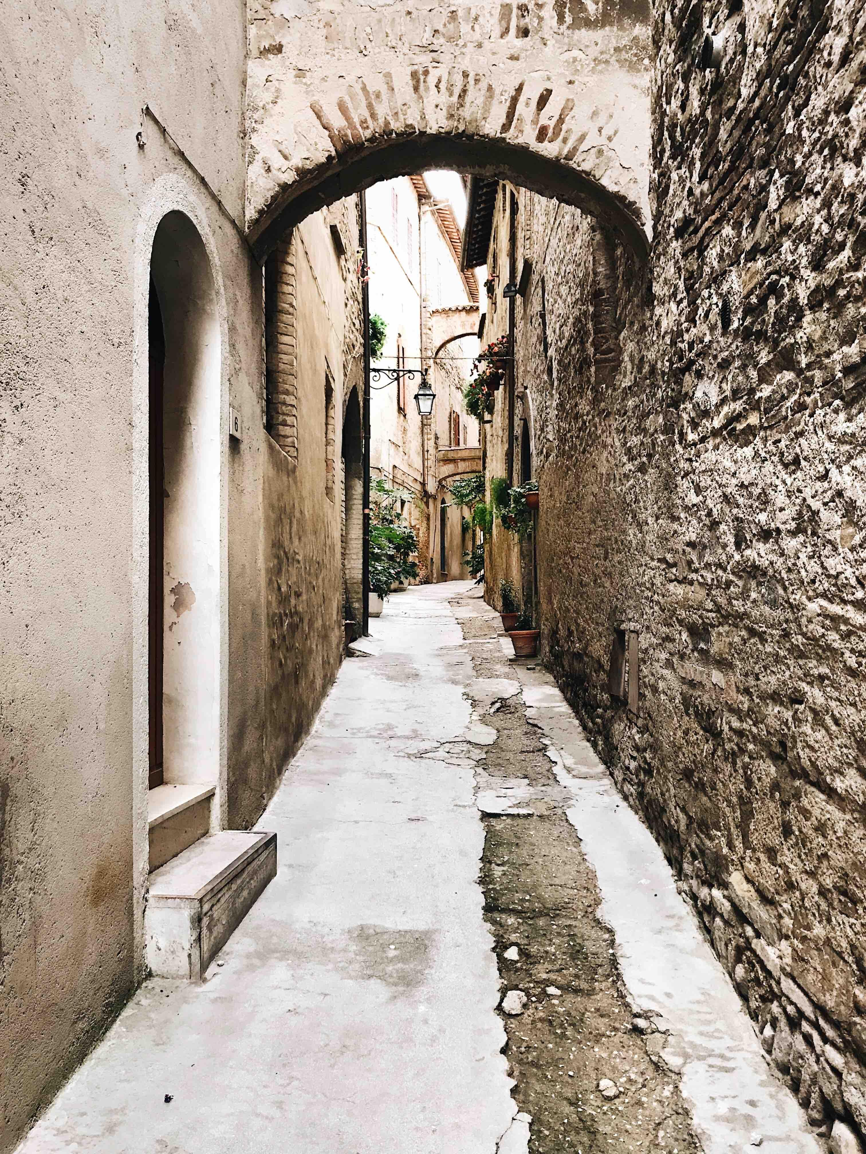 I borghi dell'Umbria: Bevagna