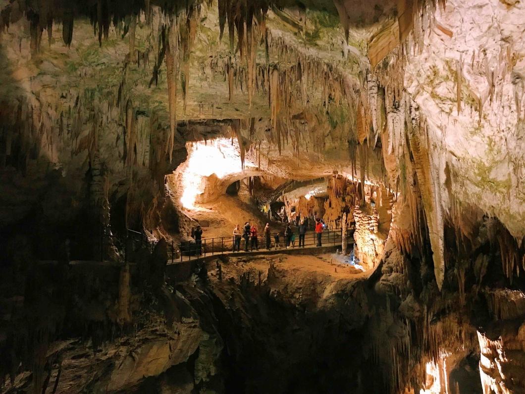 Le grotte di Postumia: percorso a piedi