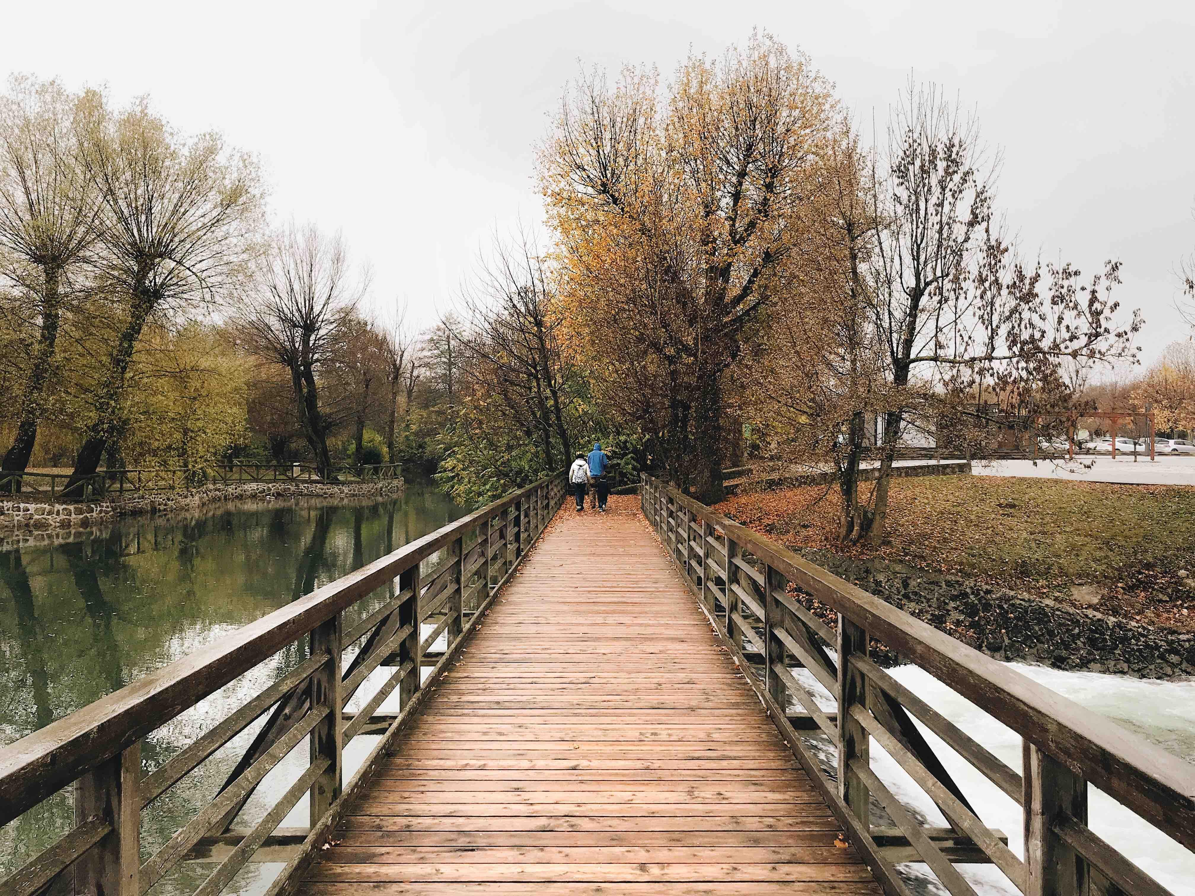 Le grotte di Postumia: ponte sul fiume