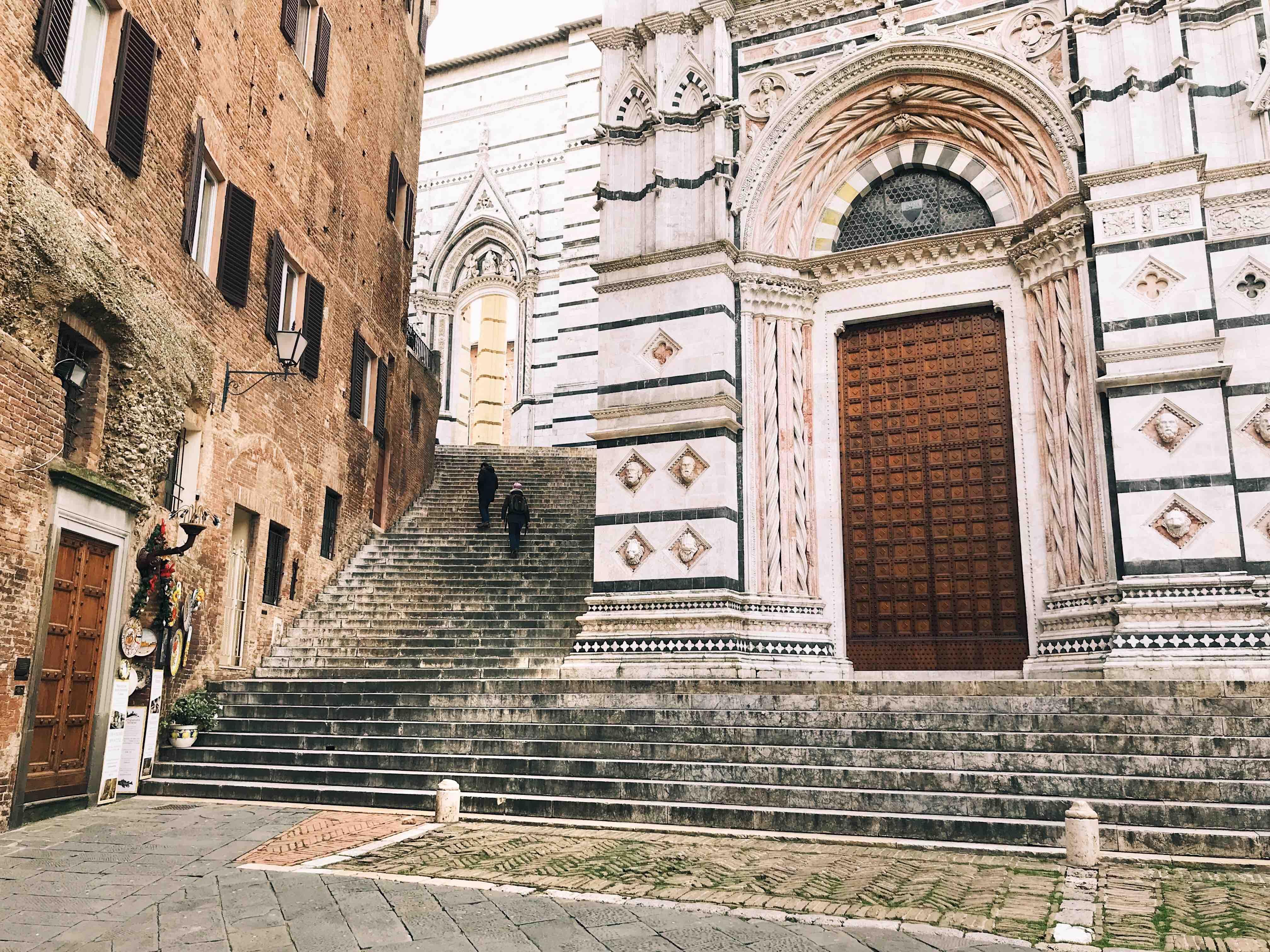 Siena e la Val d'Orcia: il Battistero di Siena