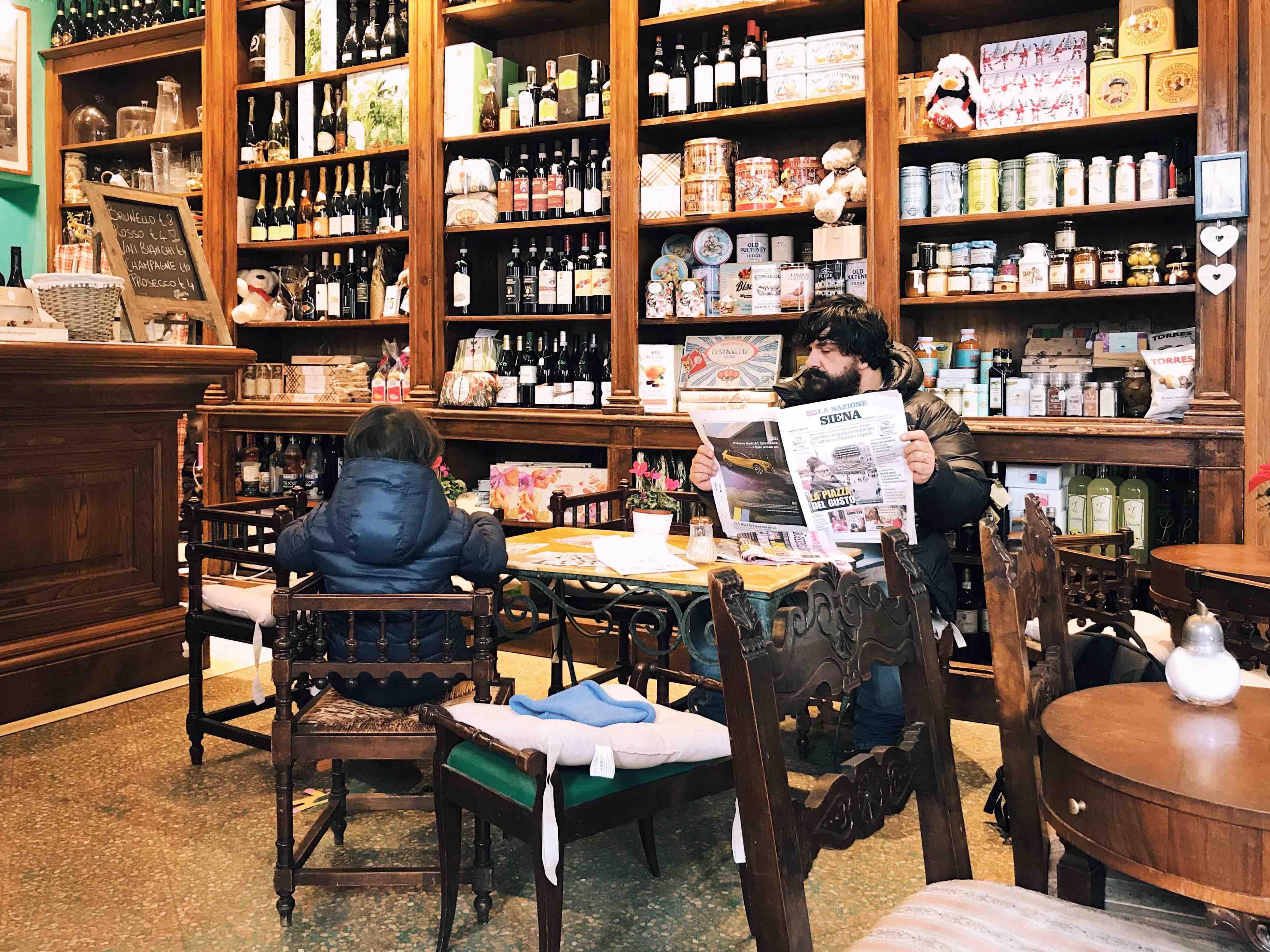 Caffè il Leccio a Montalcino