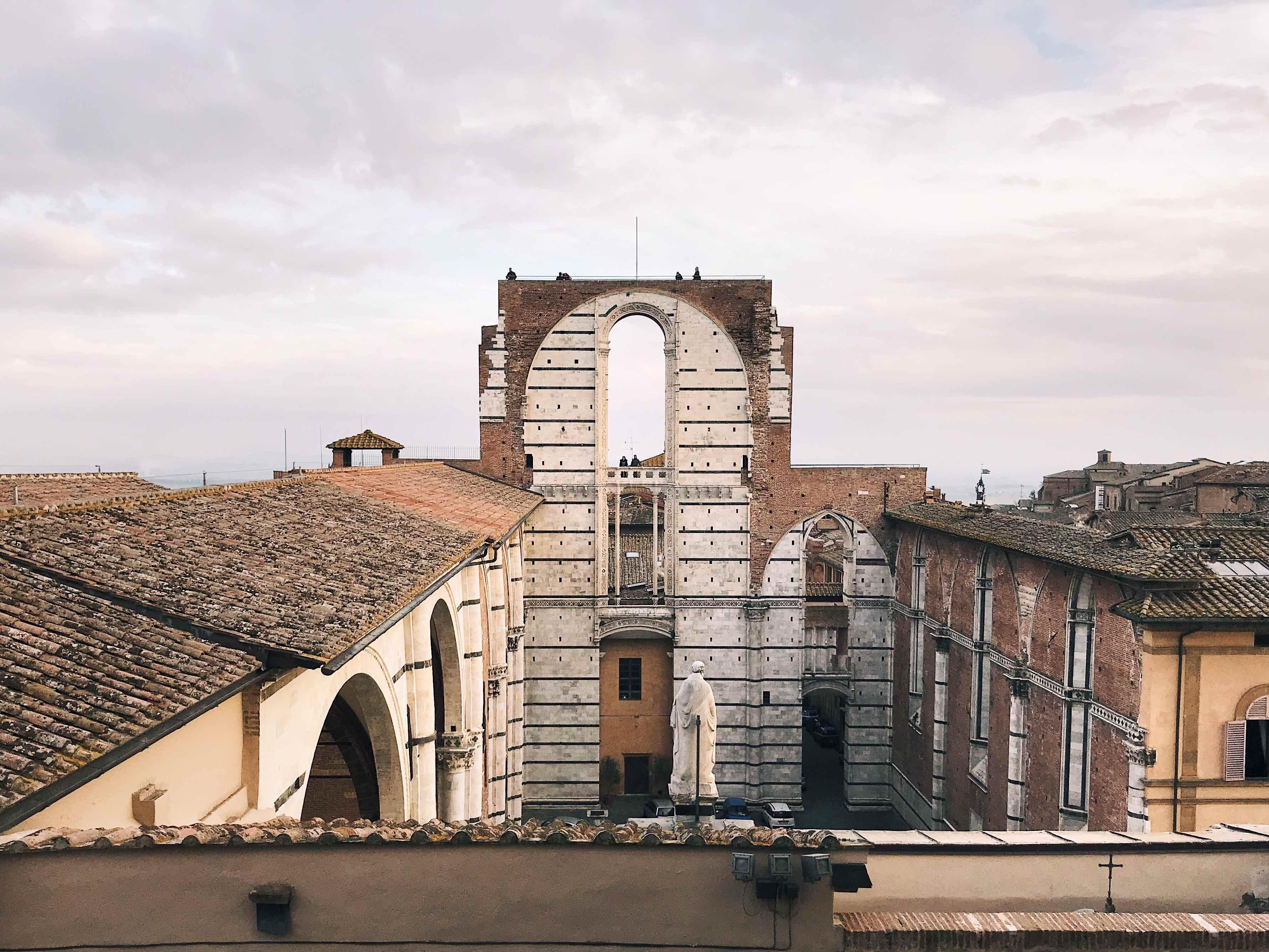 Il Facciatone di Siena