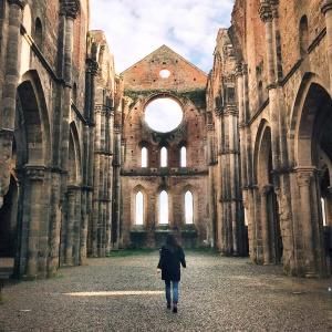 I luoghi più belli della Toscana: Abbazia di San Galgano