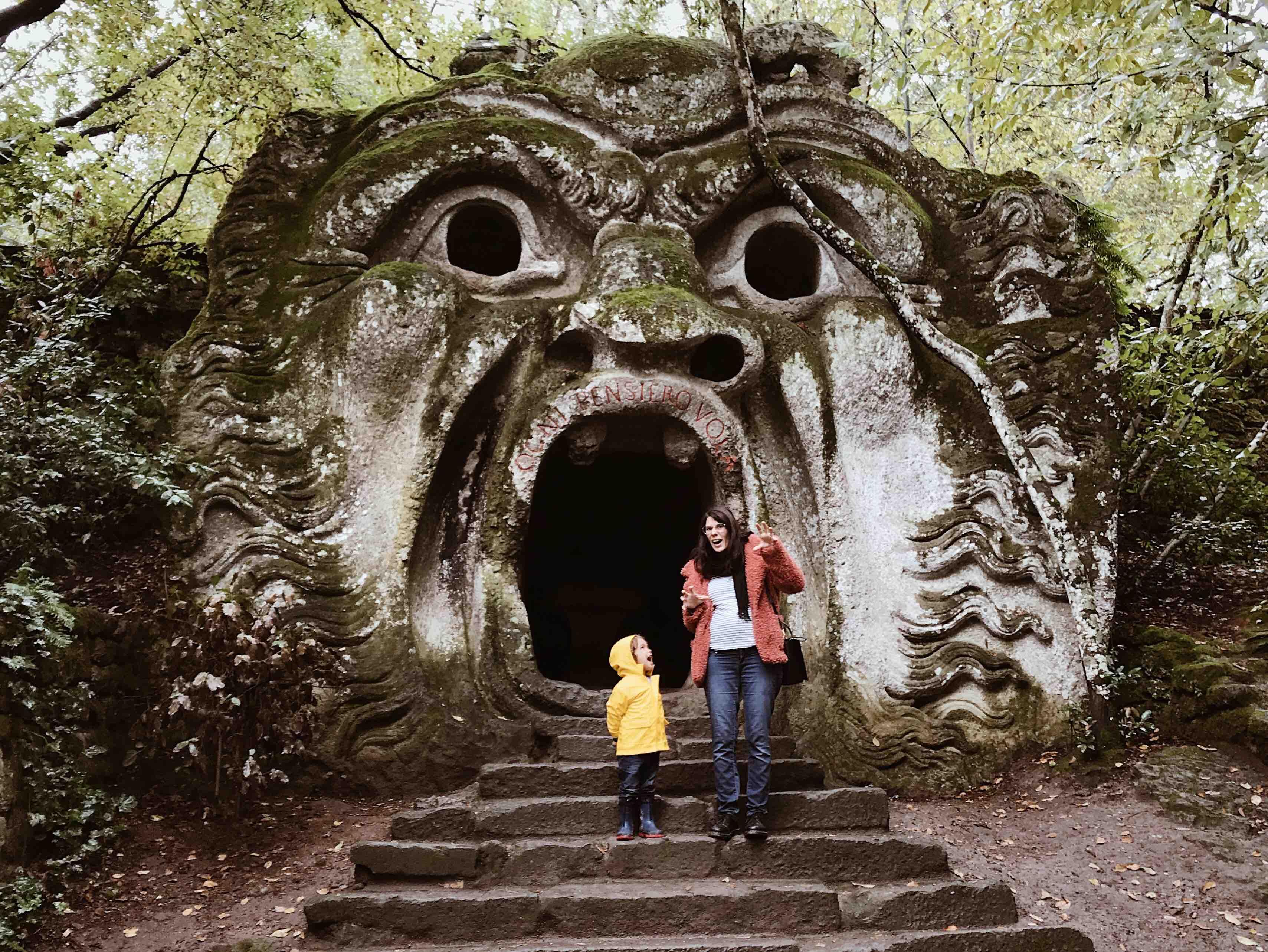 Il Parco dei Mostri di Bomarzo: il grande mostro