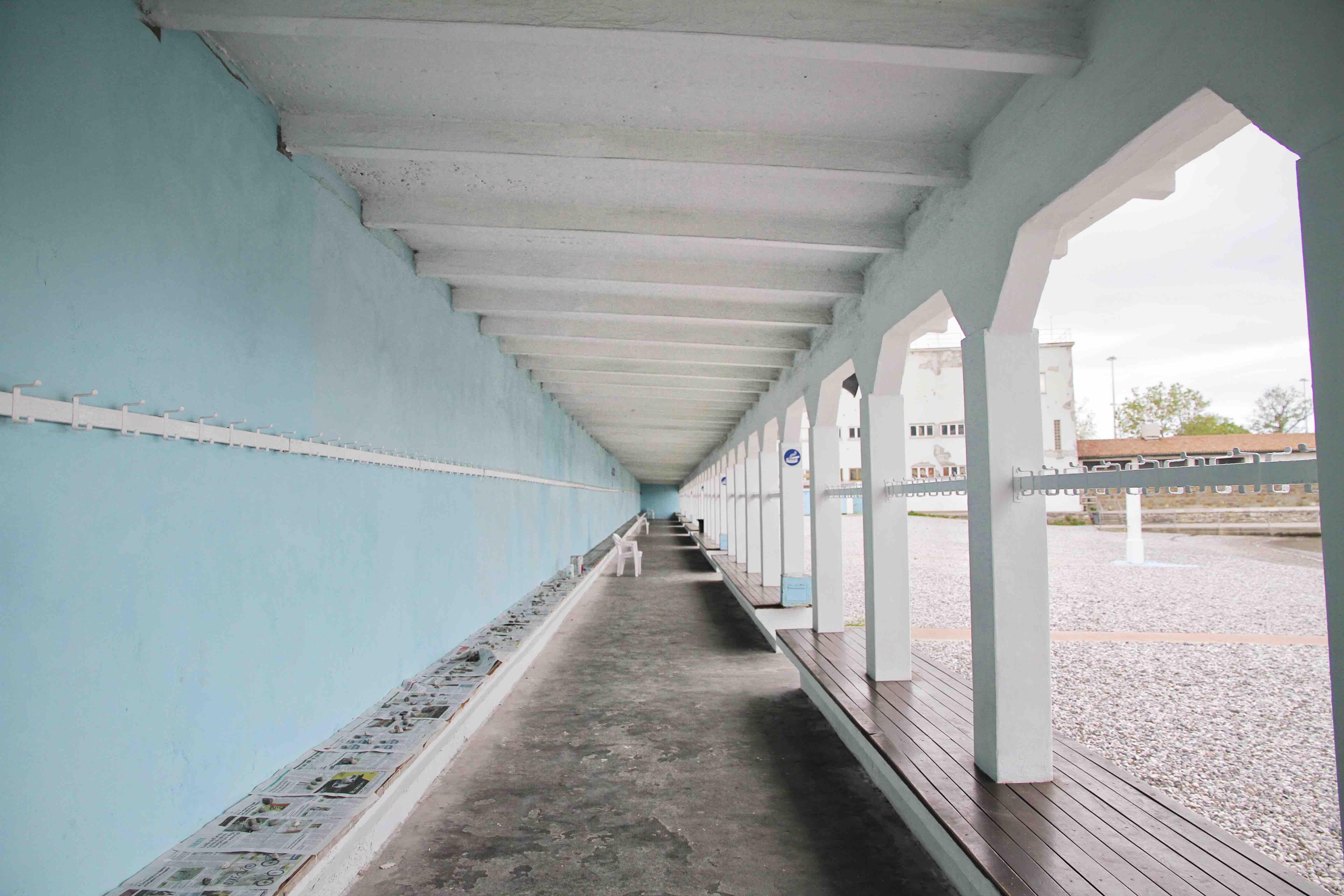 Il Pedocin di Trieste in inverno