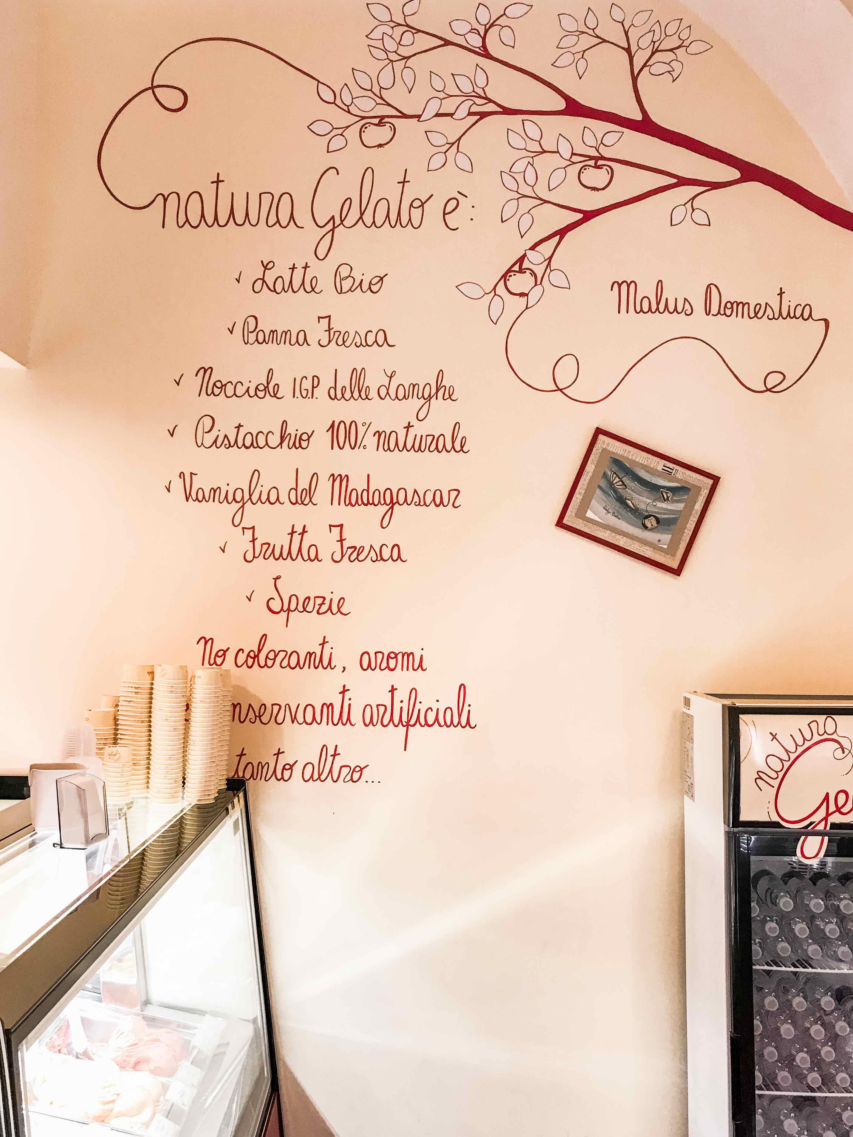 Il gelato naturale di Trieste