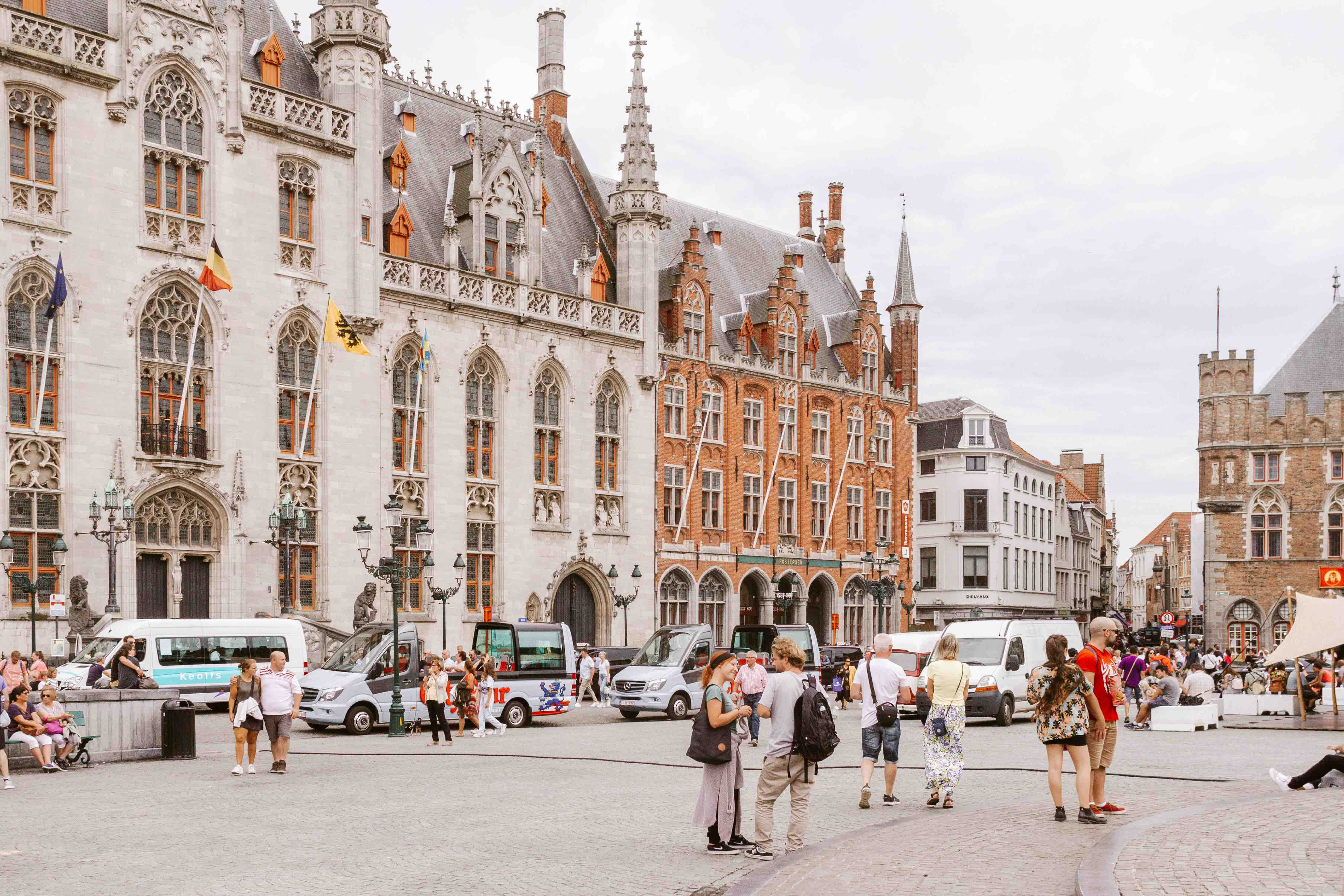 2 giorni a Bruges: Markt Place