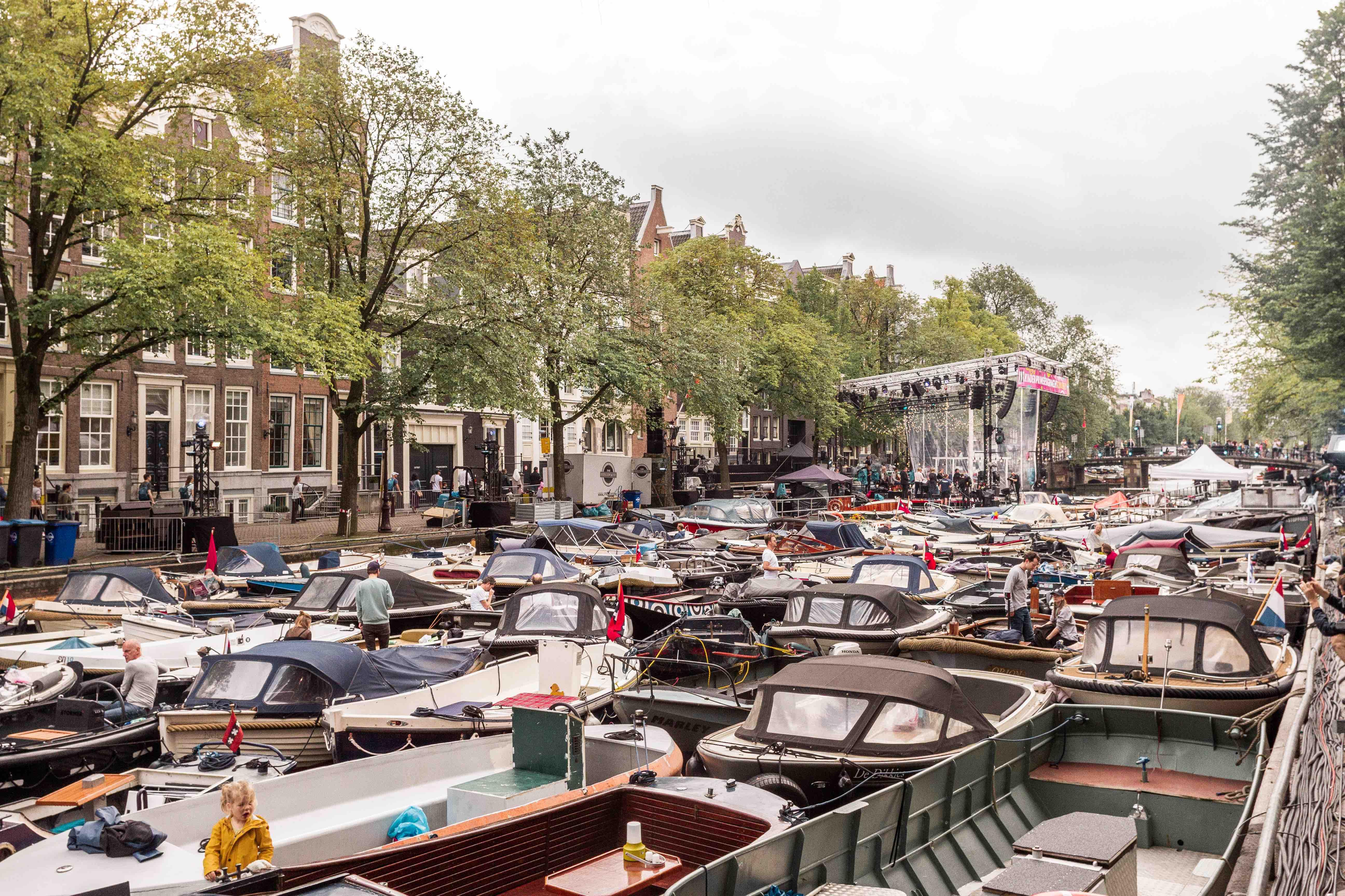 29 cose da vedere ad Amsterdam: concerto per barche