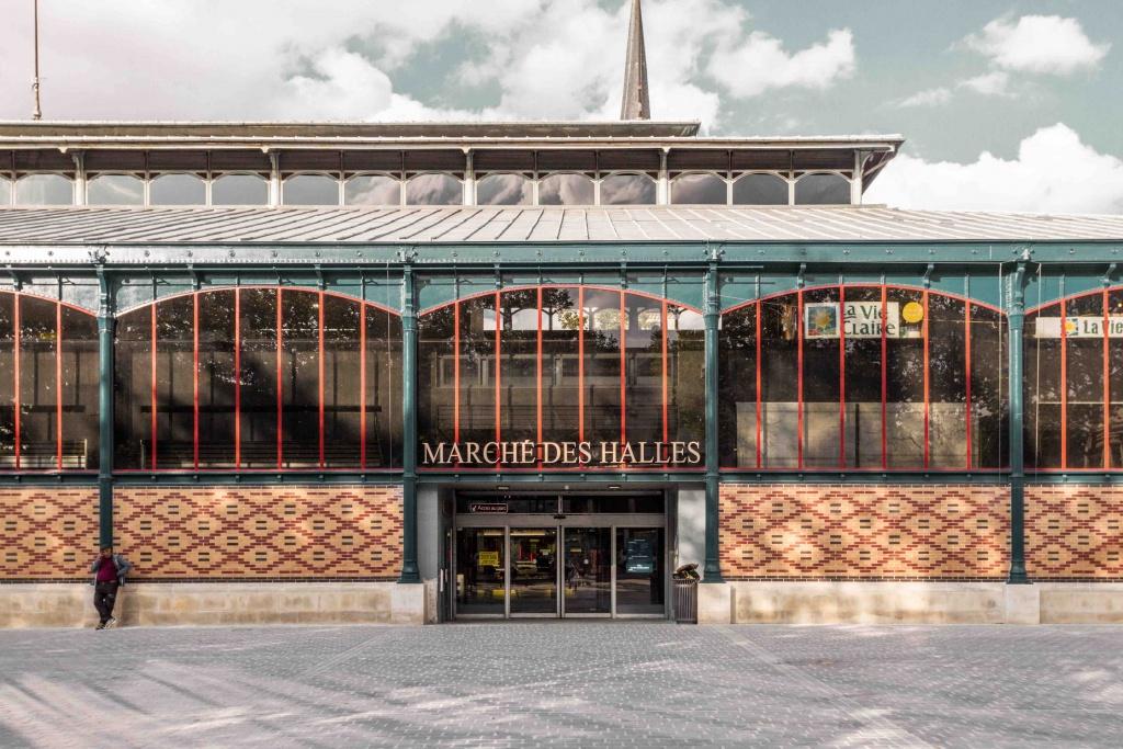 Visita a Troyes: mercato coperto entrata