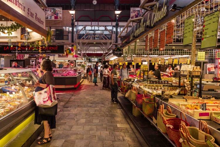 Visita a Troyes: mercato coperto interni