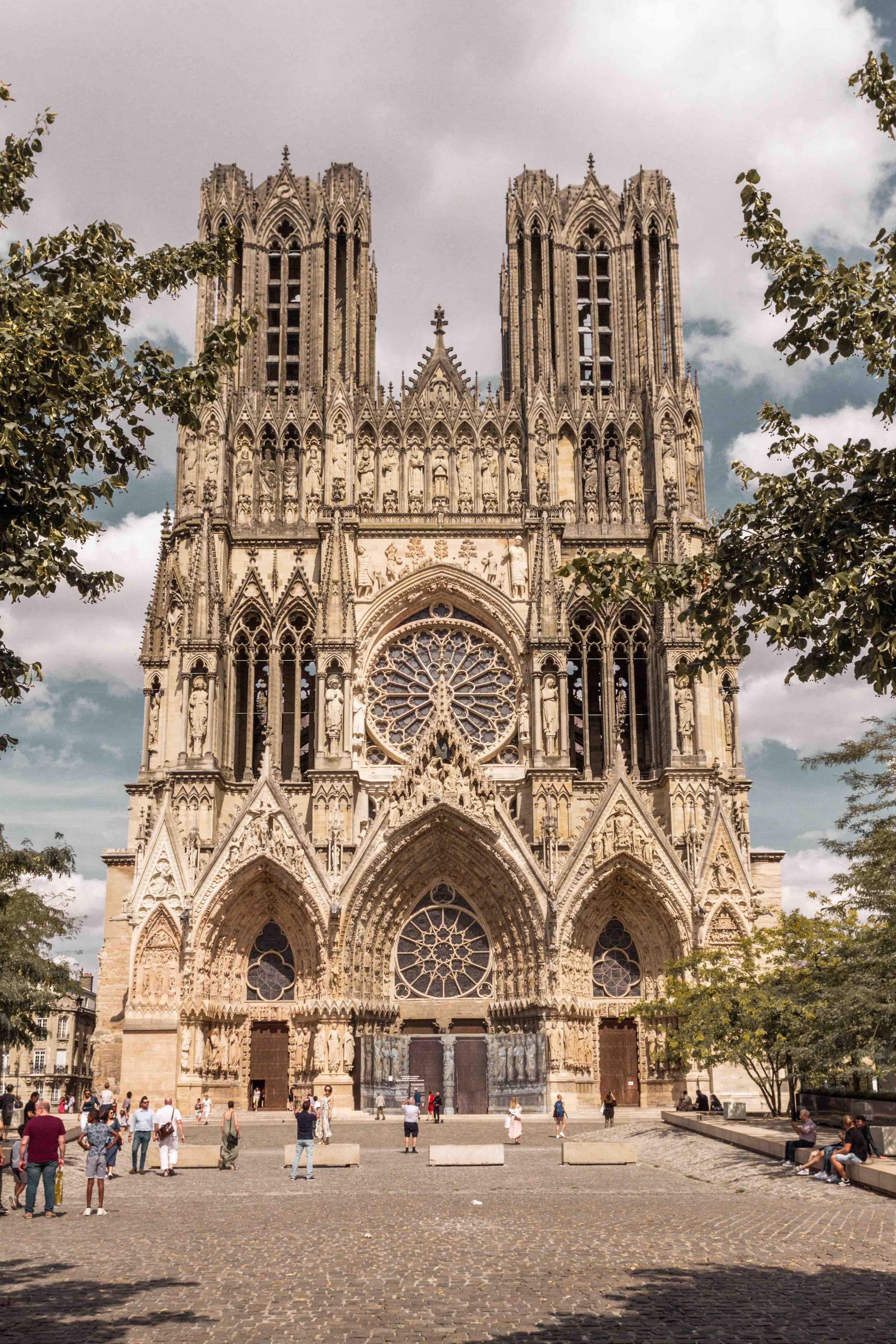 Cattedrale Notre Dame de Reims facciata