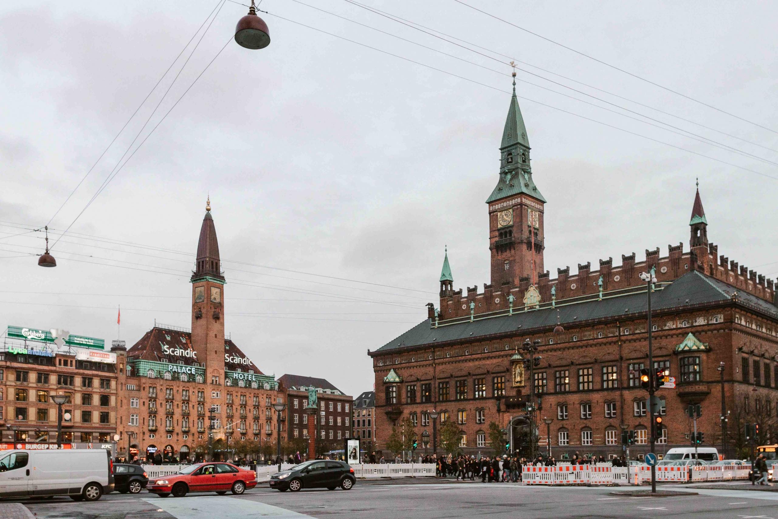 Piazza del Municipio di Copenhagen