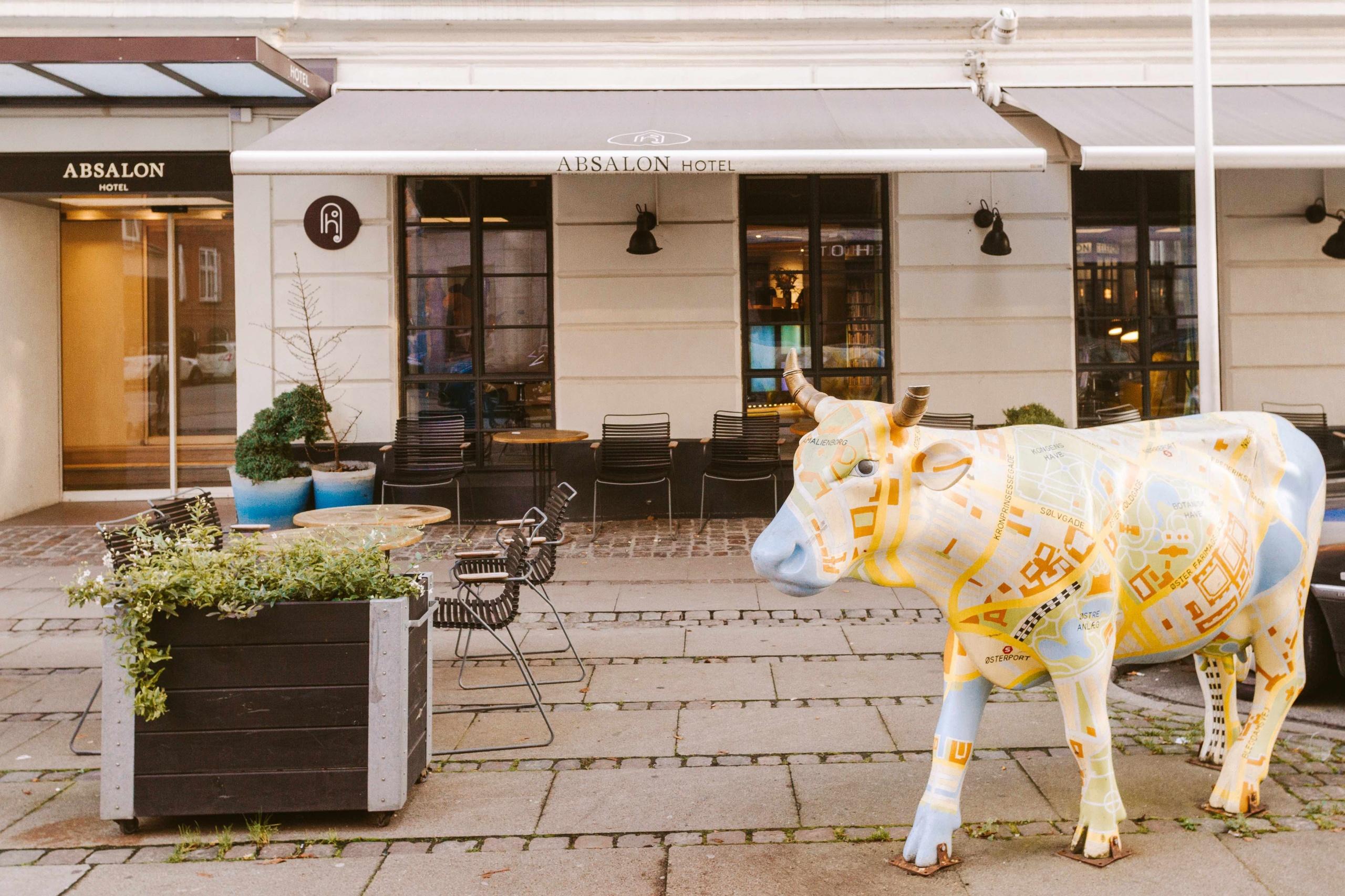 dove dormire a XCopenhagen: entrata dell Absalon Hotel