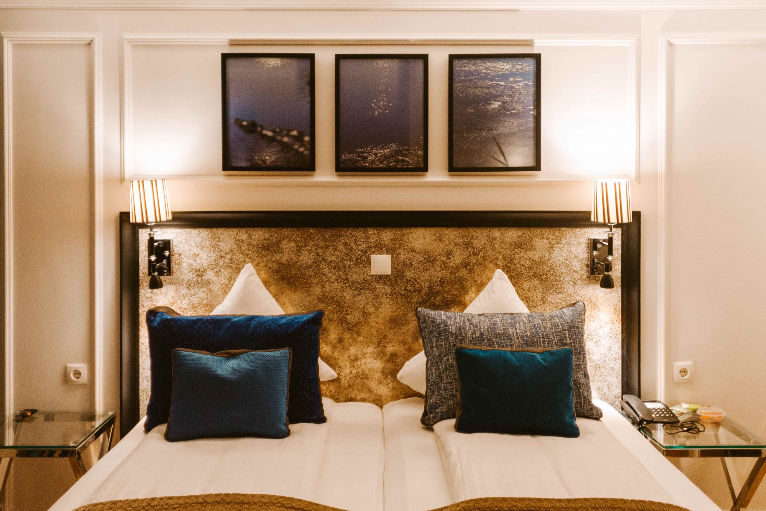 dove dormire a Copnhagen: stanza matrimoniale Absalon Hotel