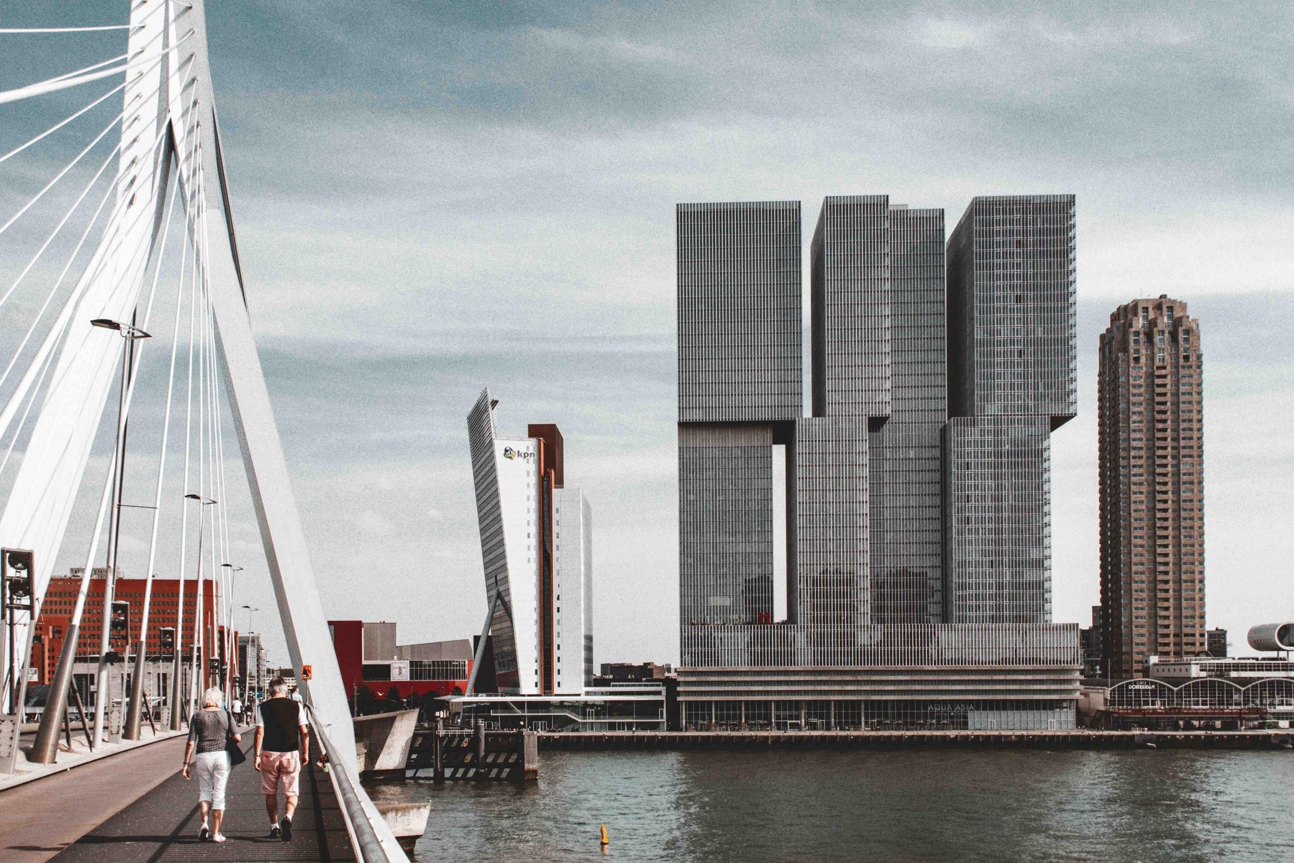 itinerario architettonico di Rotterdam: grattacielo De Rotterdam