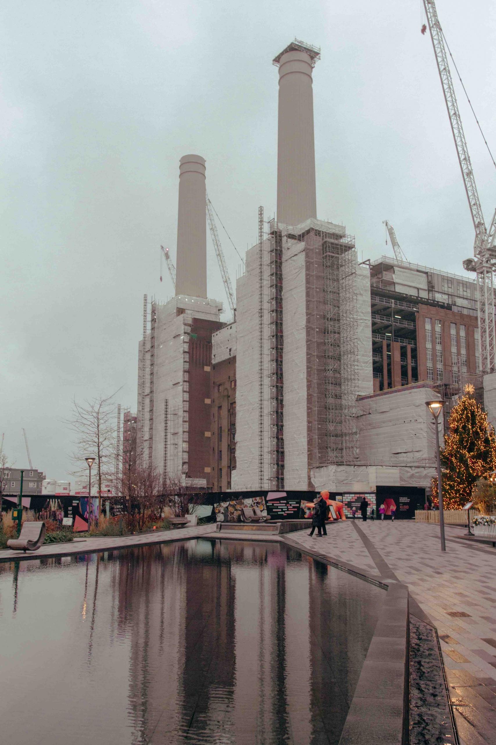 luoghi poco conosciuti di Londra: centrale elettrica in ristrutturazione