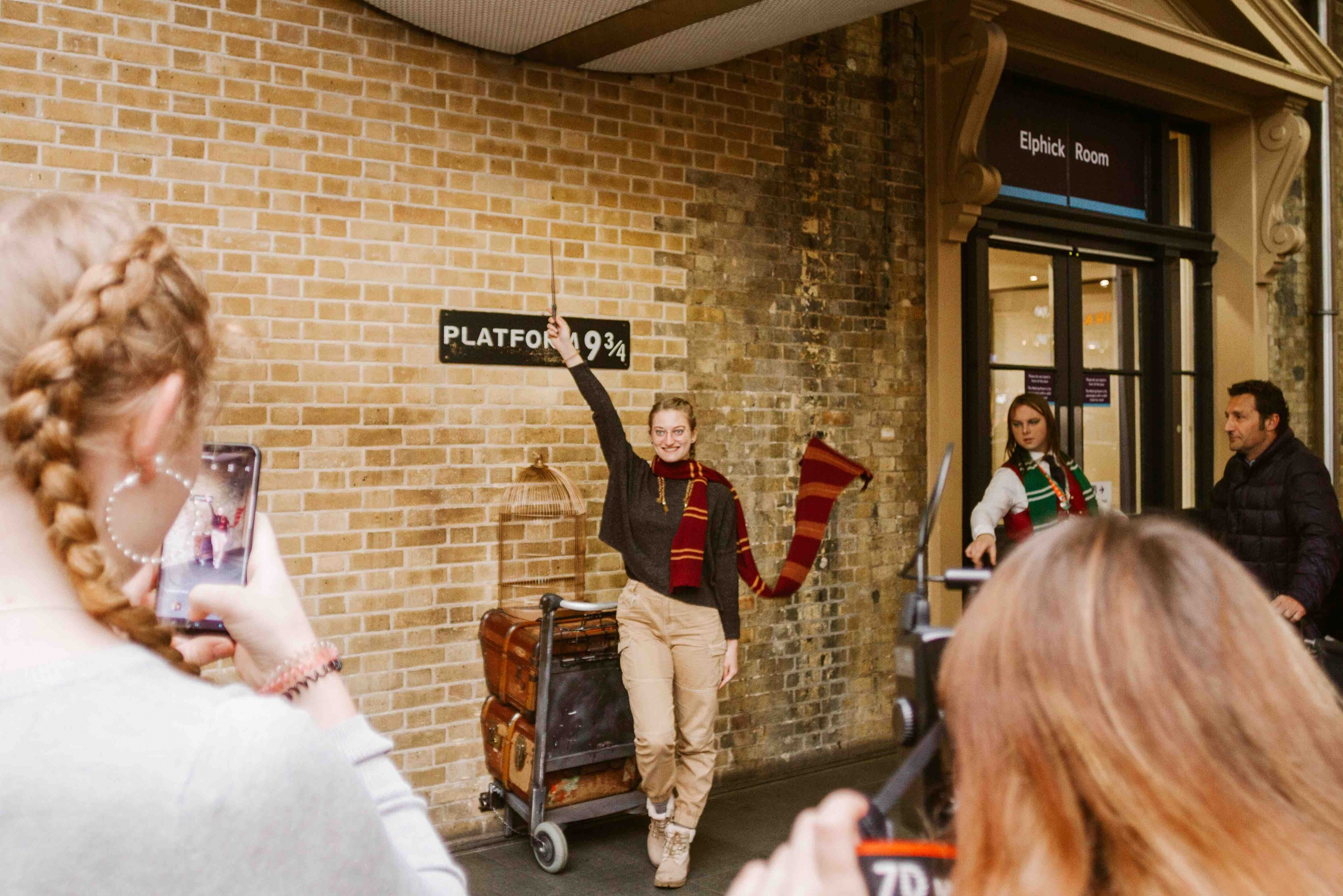 binario di Harry Potter stazione St. Pancras