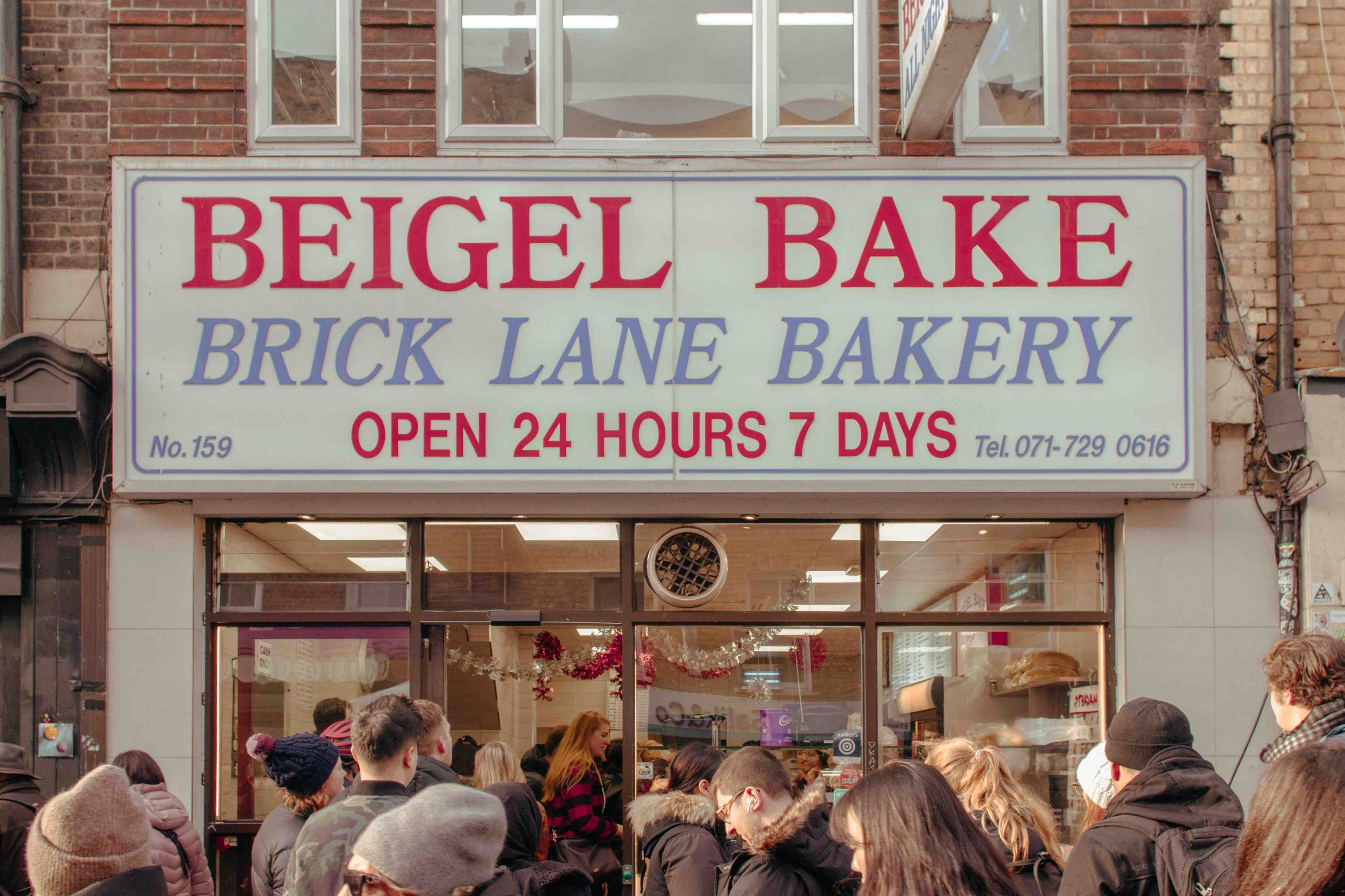 luoghi poco conosciuti di Londra: panetteria che vende beigel