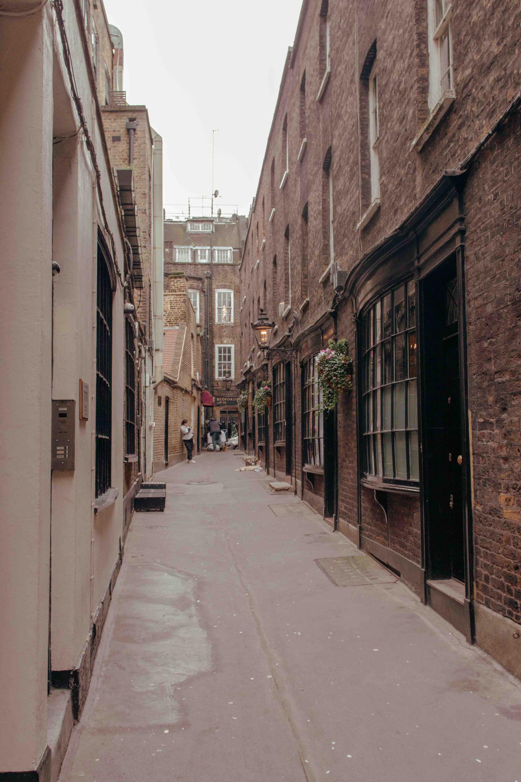 luoghi poco conosciuti di Londra: via nascosta a Londra