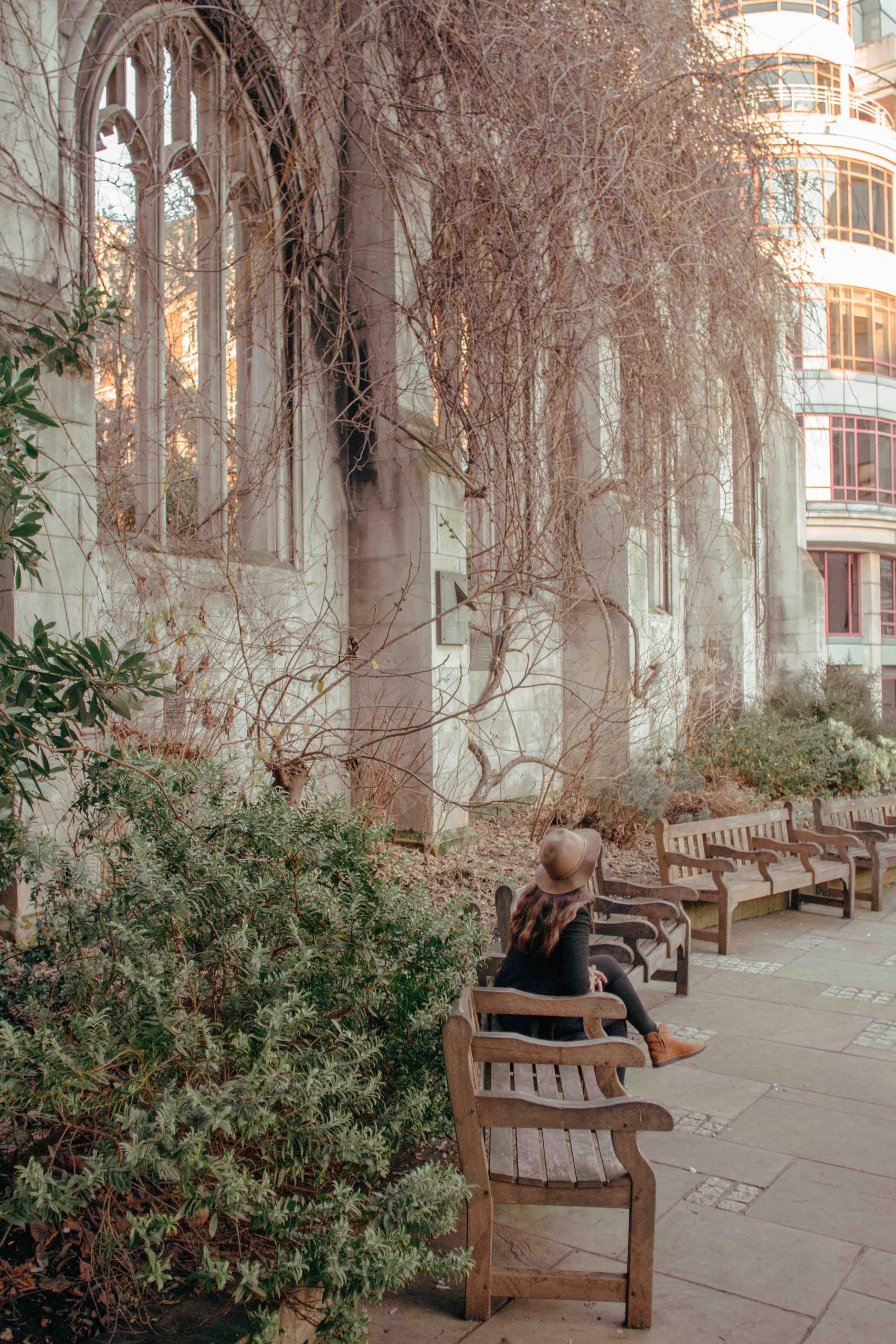 luoghi poco conosciuti di Londra: chiesa abbandonata