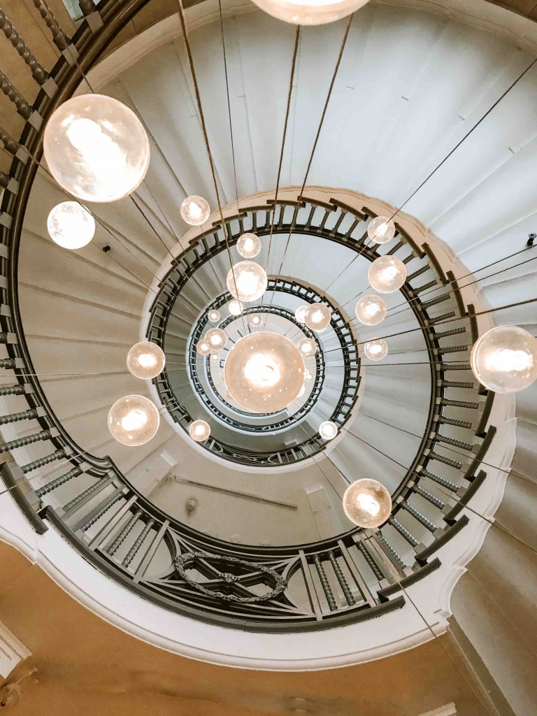 luoghi più belli da fotografare a Londra: scala a chiocciola