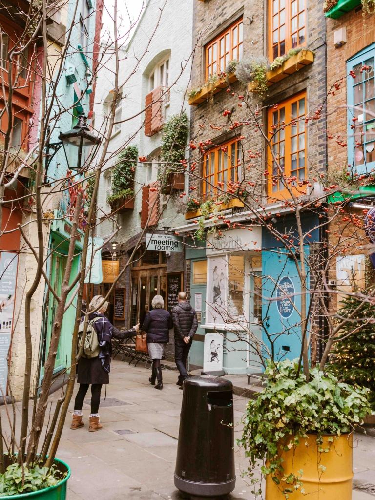 luoghi più belli da fotografare a Londra: Neal's Yard