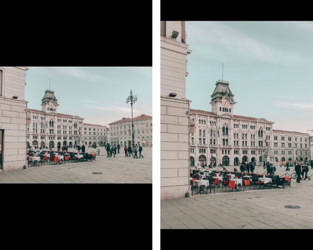 fare belle foto per Instagram: formato verticale