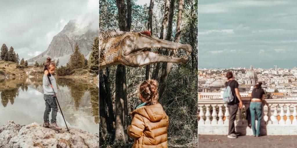 esempio 3 fotografie con soggetto in primo piano sfocato