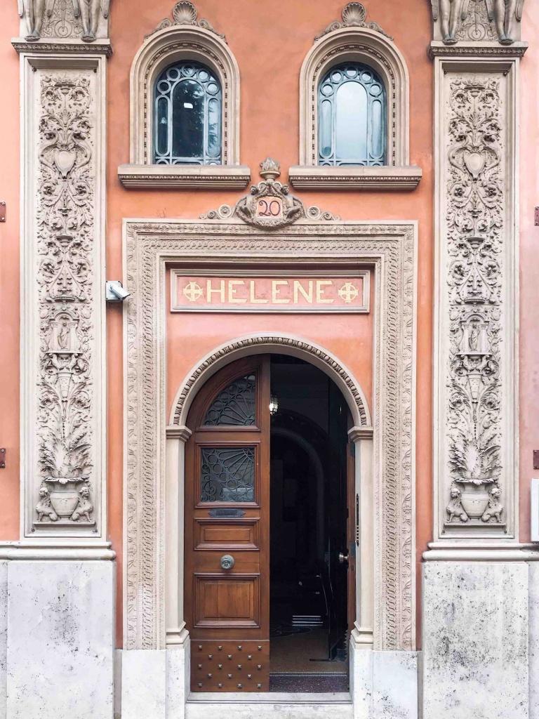 entrata del museo Hendrik Christian Andersen