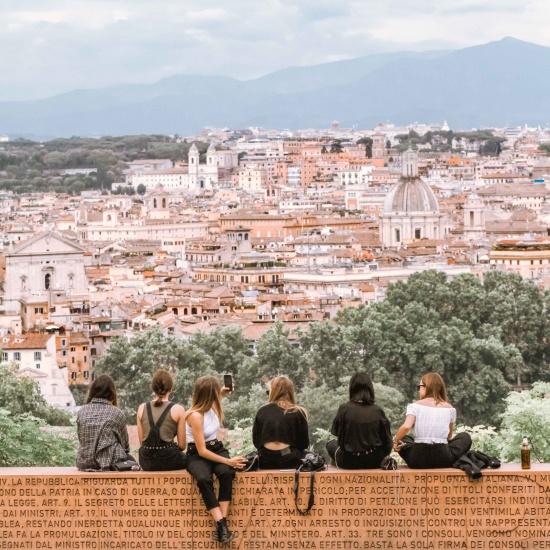 cosa fare a Roma la passeggiate del Gianicolo