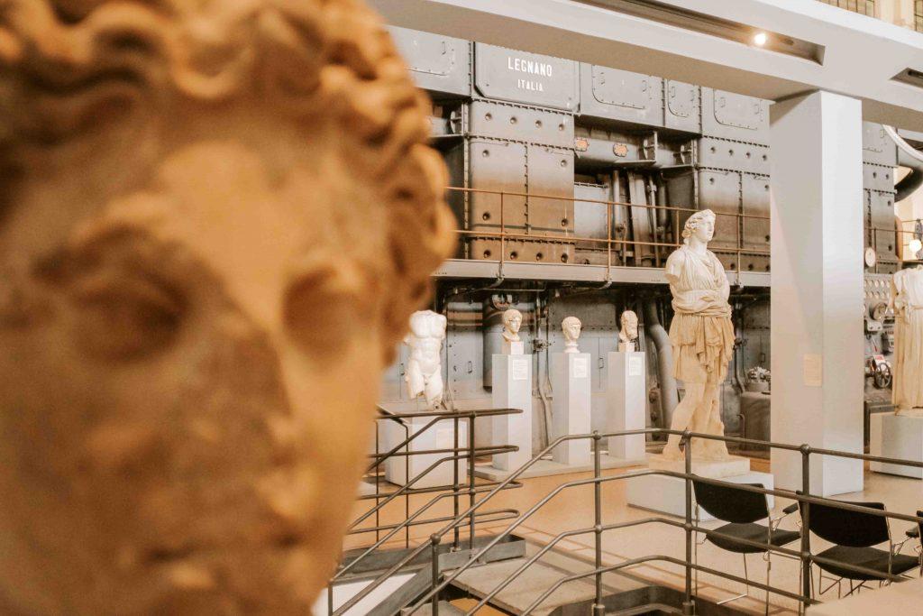 Centrale Montemartini musei poco conosciuti di roma