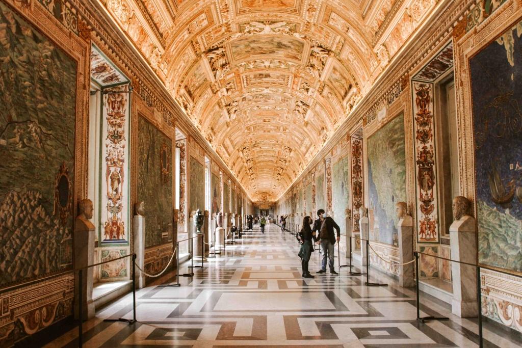 cosa vedere ai musei vaticani la galleria delle carte geografiche