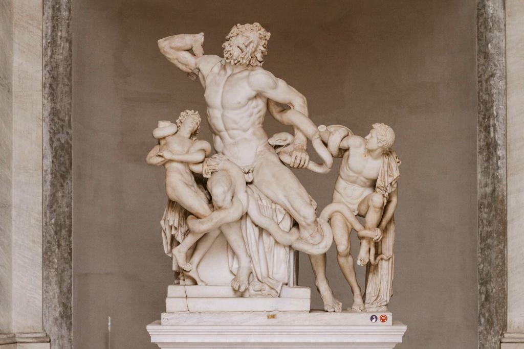 cosa vedere ai musei vaticani la statua del laocoonte