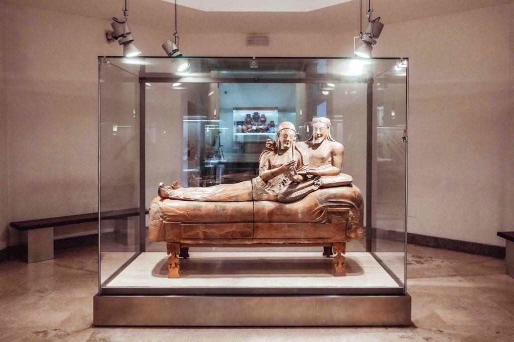 museo etrusco sarcofago degli sposi