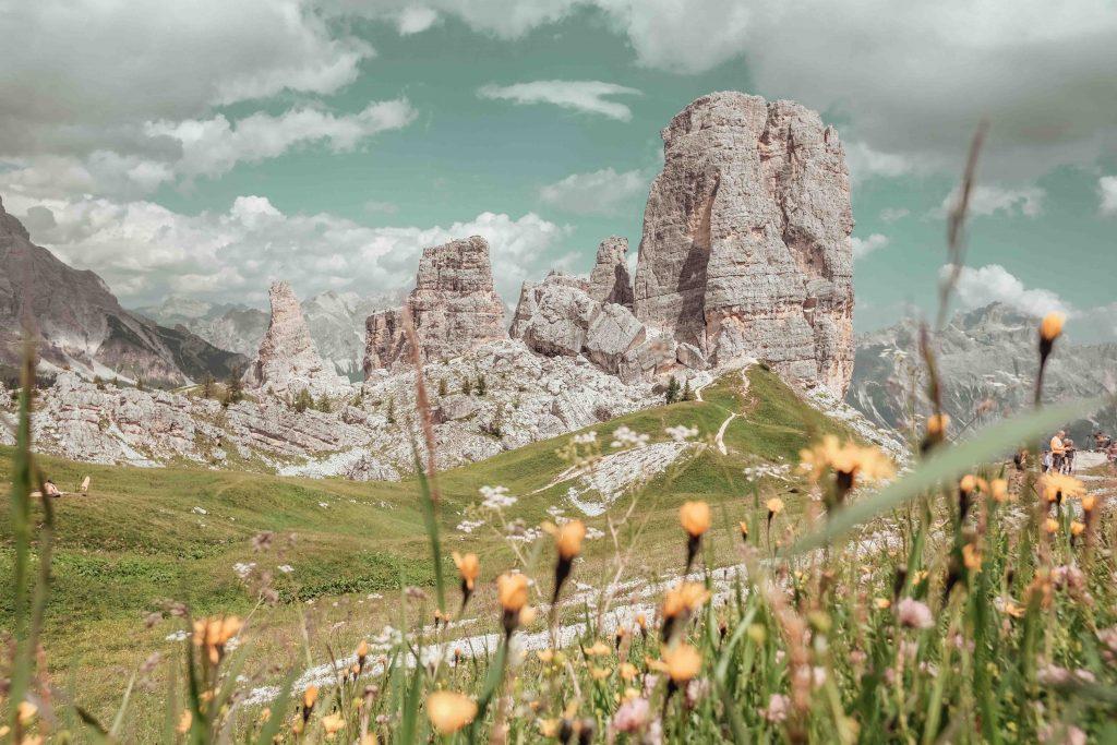 vista panoramica delle 5 torri
