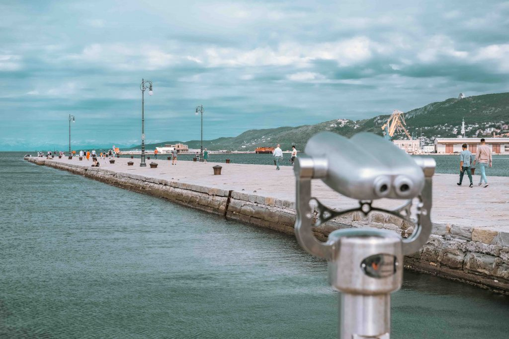 cosa vedere a Trieste: Molo Audace