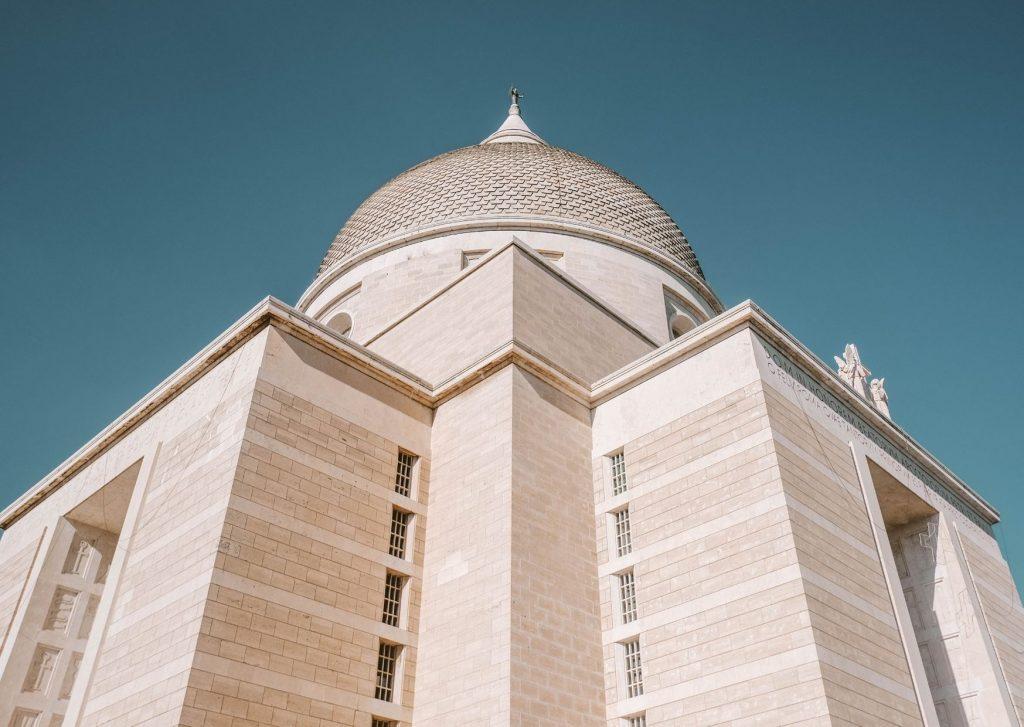 esterno basilica con grande cupola