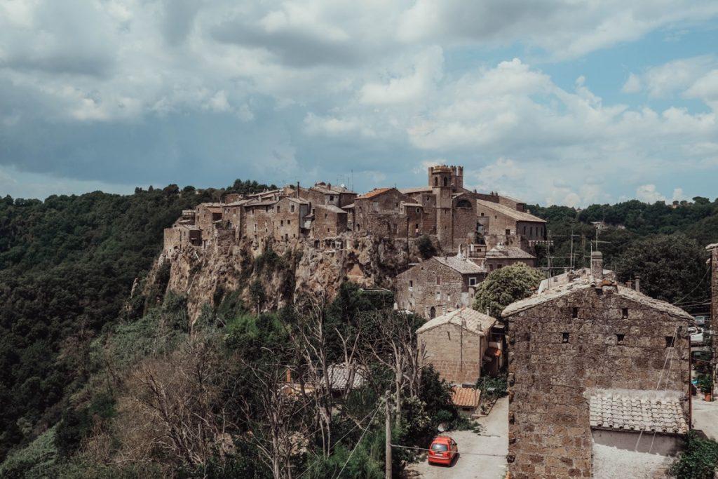 vista del borgo di calcata