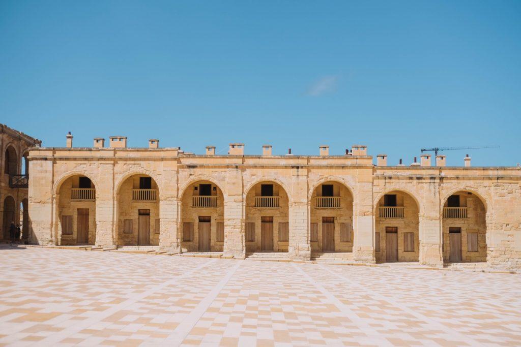 Interno di Fort Manoel