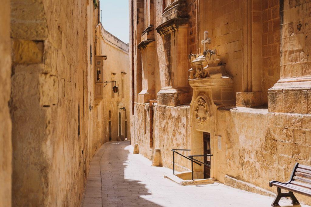 Medina la città silenziosa vicoli deserti della città